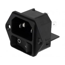 Power Supply Connector with switch