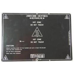 XL Θερμαινόμενο τραπέζι εκτύπωσης PCB Heatbed 200x300mm μιλιμετρέ