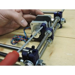 3d printer building workshop